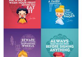 Lições de vida das princesas