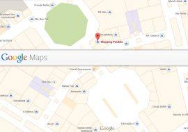Mapas internos do Google