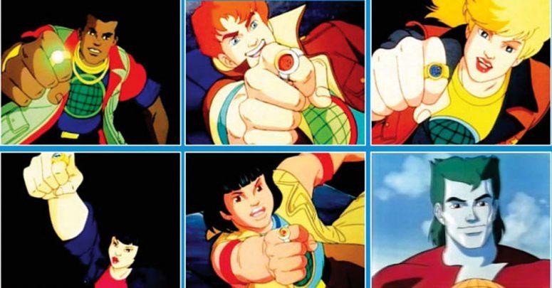 Pela união dos seus poderes, eu sou o Capitão Planeta!