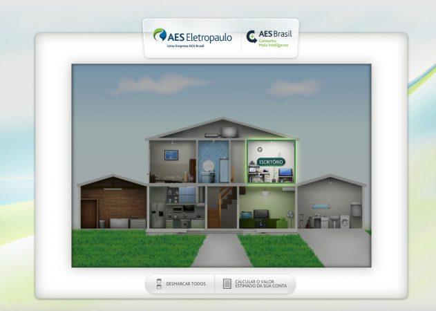 Simulador de Consumo de Energia